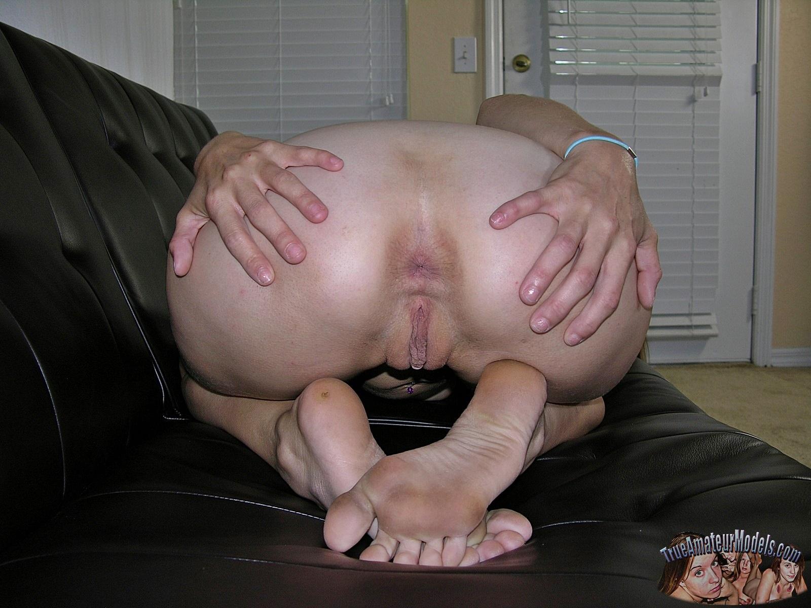 Amateur Teen Anal Stockings