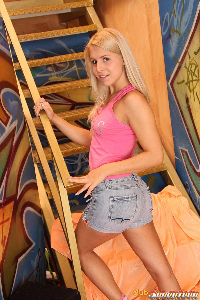 Cute Blonde Teenager -