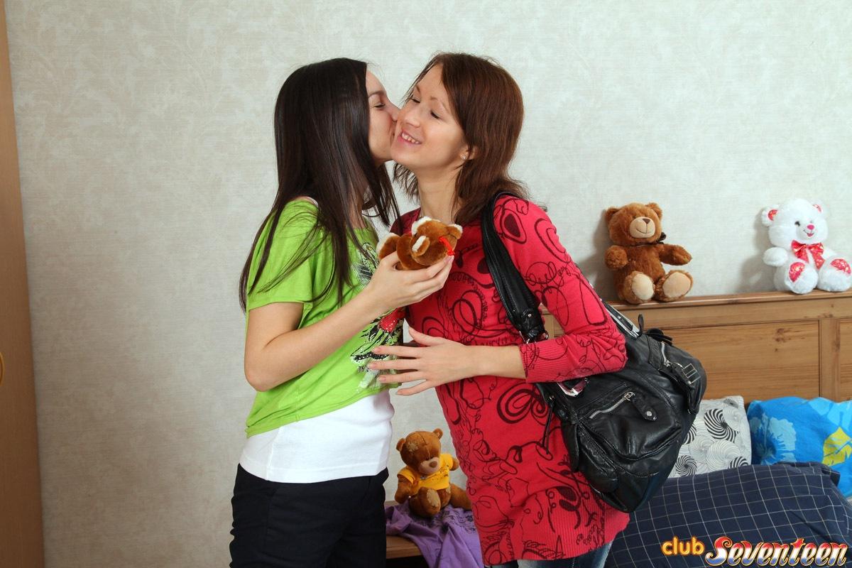 Tight Teen Lesbian Anal